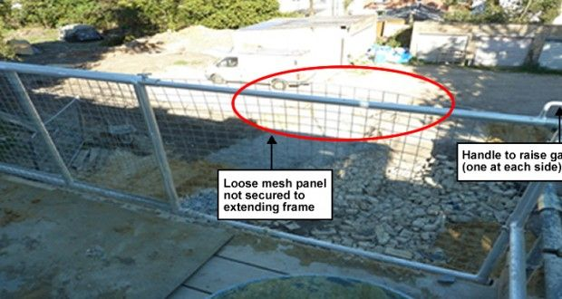 SCAFFOLDING SAFETY SPOTLIGHT: LOADING BAY GATE INDUSTRY ALERT