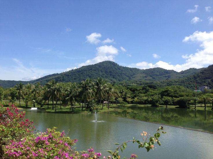 Lagoon at the Hilton Phuket Arcadia Resort & Spa in Karon, Thailand