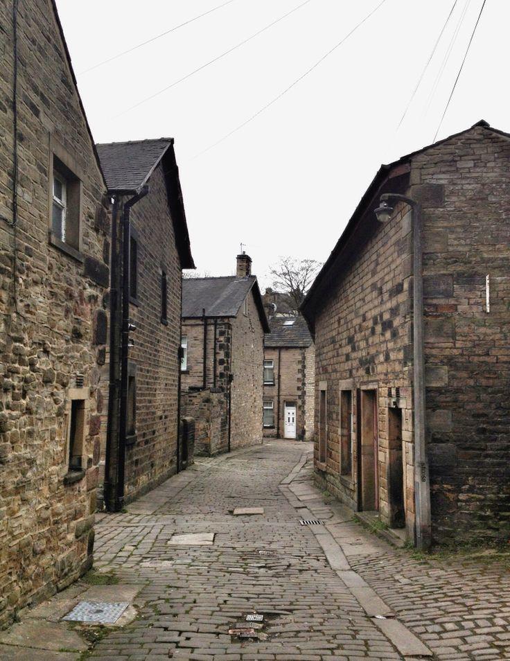Backstreet Settle. Yorkshire. UK.