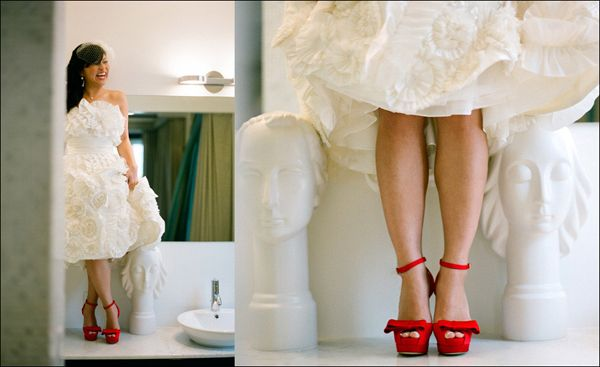 Ruby Bridal Shoes: Wedding Inspiration, Style, Wedding Gown, Red Shoes, Wedding Ideas, Weddings, Dress, Red Wedding Shoes, Photography