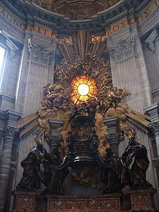 Rooms-Katholieke Kerk - De heilige stoel