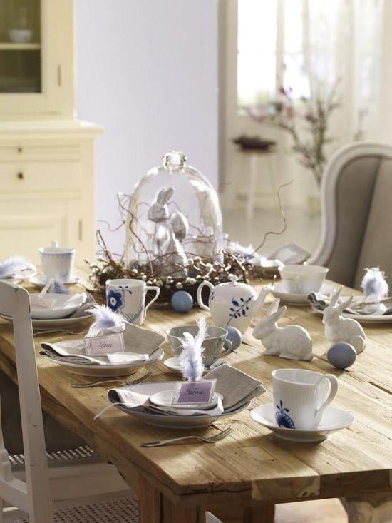 Decoração de mesa rústica para a Páscoa | Eu Decoro
