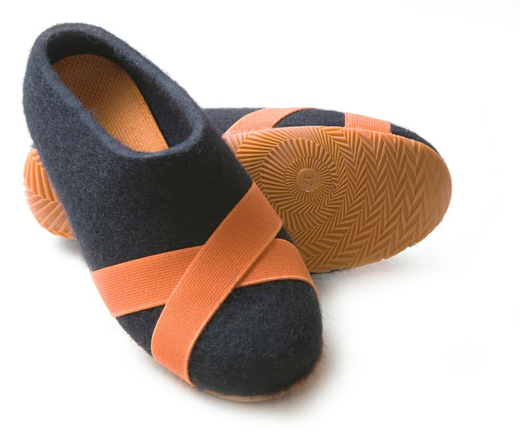 Aki Choklat for Lahtiset, felt slippers, ACFL-57, http://www.lahtiset.fi/fi/mallisto/aki-choklat-for-lahtiset.html #akichoklat #lahtiset #felt #slippers
