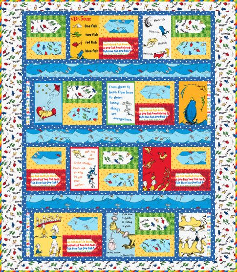 80 best images about dr seuss fabric projects on for 1 fish 2 fish store