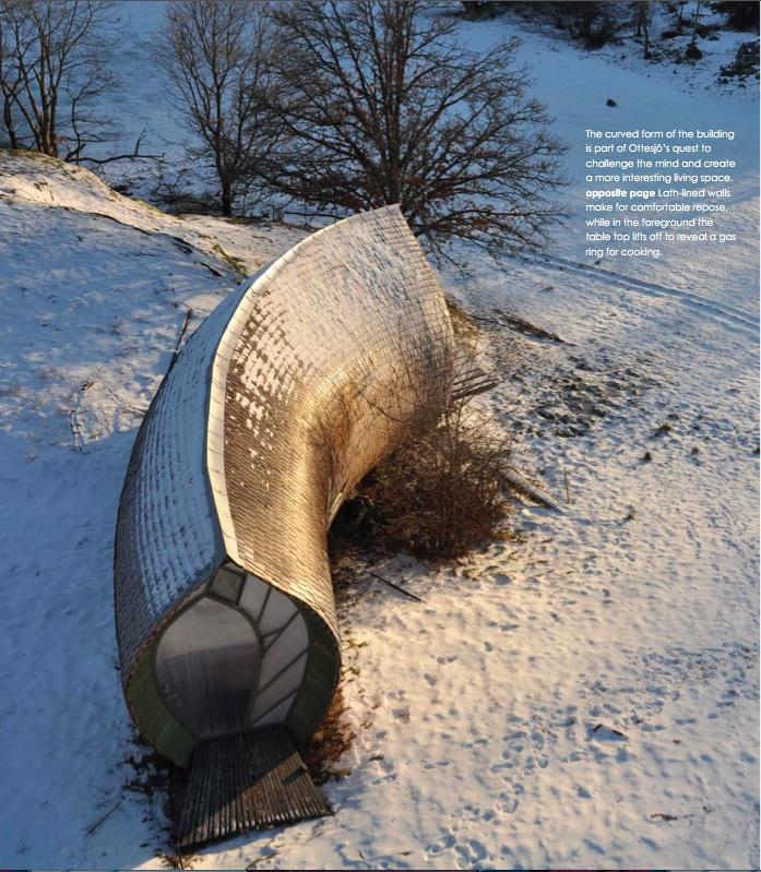 nordic curl - photography: David Jackson Relan, architect: Torsten Ottesjo