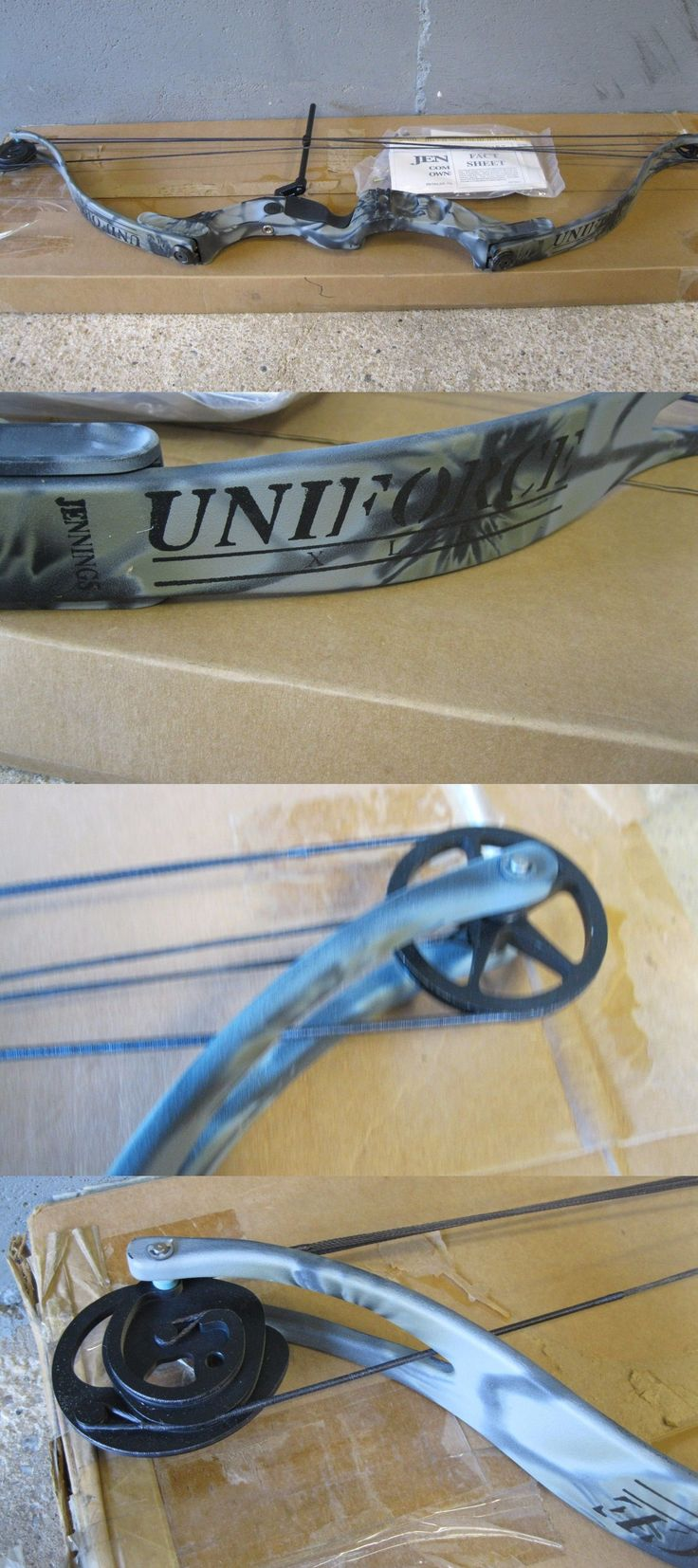 Bowhunting 159037: Jennings Carbon Camo Uniforce Xlr Left Handed Compound Bow *Nib* -> BUY IT NOW ONLY: $125 on eBay!