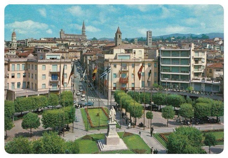 Piazza Guido Monaco Arezzo