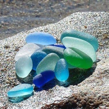 authentic sea glass