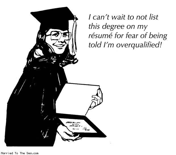 What are the worst reasons to attend graduate school?