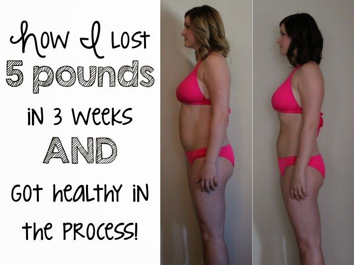 how to lose 6 pounds in 3 weeks