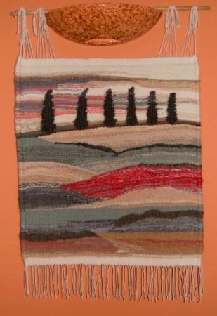 toscana tapiz lana  anilana tapiz tejado artesanal