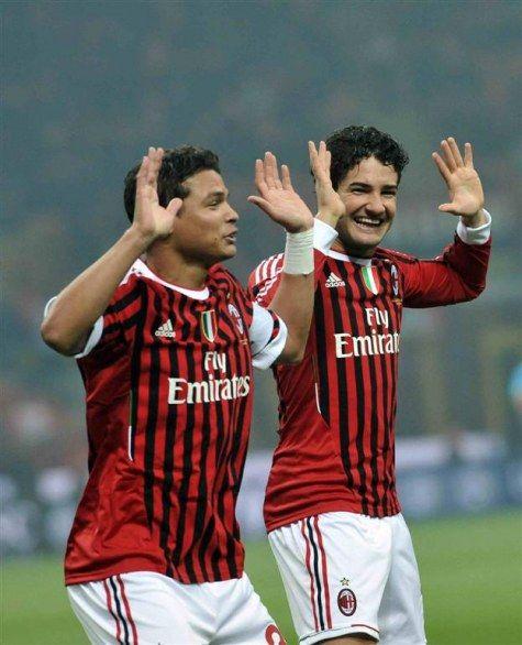 """Thiago Emiliano da SILVA (2009-2012) & Alexandre """"PATO"""" Rodrigues da Silva; (2007-2013)"""