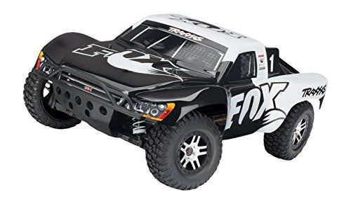 Hobby RC Trucks - Traxxas Slash 4X4 110 Scale 4WD Electric Short Course Truck with TQi 24GHz Radio  TSM Fox *** Check out this great product.