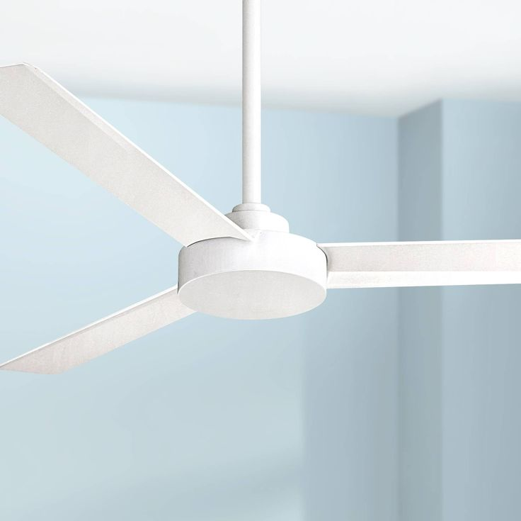 "52"" Minka Aire Roto Flat White Ceiling Fan - #6H278 
