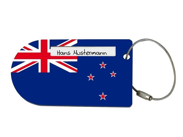 "Gepäck-Anhänger+""Flagge+Neuseeland""+von+Calypso+auf+DaWanda.com"