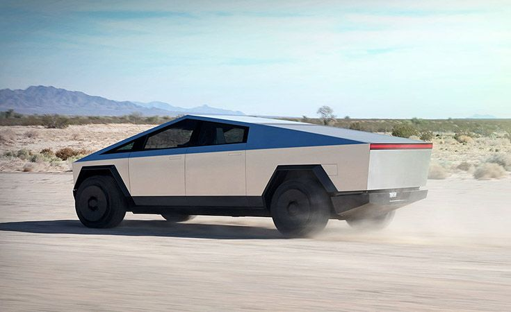 Tesla Cybertruck La Pick Up Del Futuro Tesla Autos Traccion Trasera