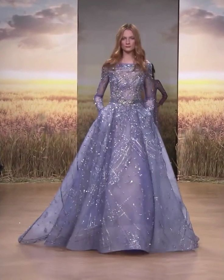 Ziad Nakad Look 35. Spring Summer 2018 Haute Couture Collection
