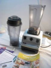VITAMIX 5000 VM0103 w/ Wet and Dry Containers, Instruction DVD & Book ~Vita Mix 227.00 S&H 24.65