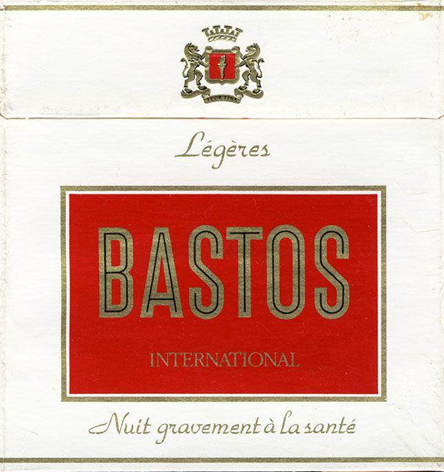 Bastos International Legeres French Warning Vintage Ads Vintage Graphics Cigarettes