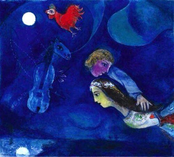 Blu. Il colore della profondità… L'Anima, dev'essere colorata. Di blu. Il sentimento, quando è autentico. Blu. La nostalgia. Blu. La notte. Blu. La mente. Blu. La mia musica: Kind…