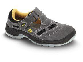 Bezpečnostní sandál BERN šedý