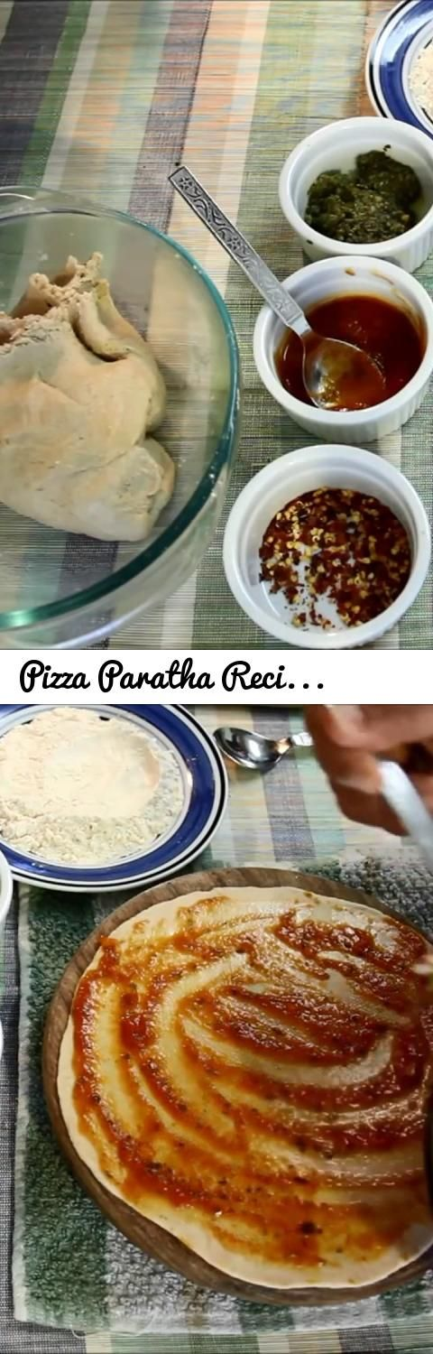 Pizza Paratha Recipe - Breakfast recipes and kids lunch box... Tags: YouTube Editor