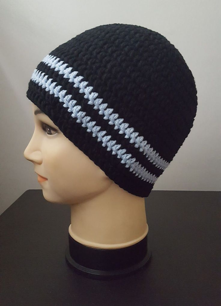 simple beanie free crochet pattern