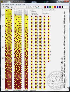 Dziergadełka JPo: Moje schematy szydełkowych sznurów koralikowych