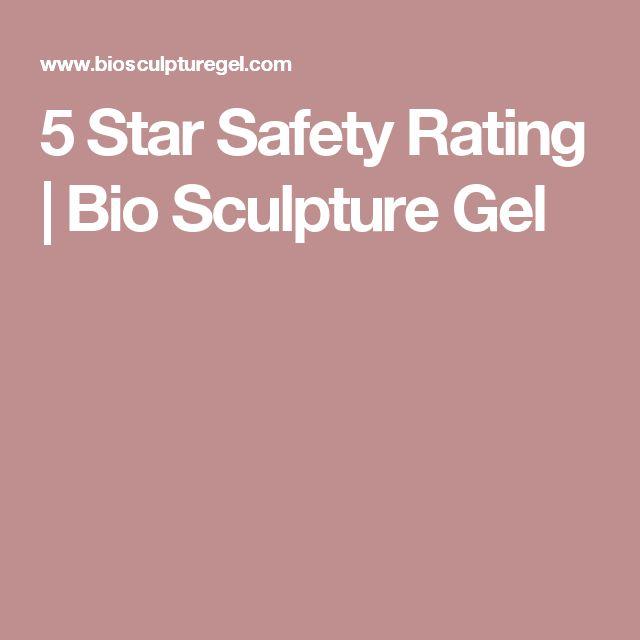 5 Star Safety Rating | Bio Sculpture Gel