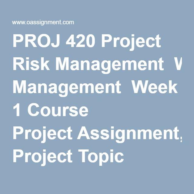 event management assignment
