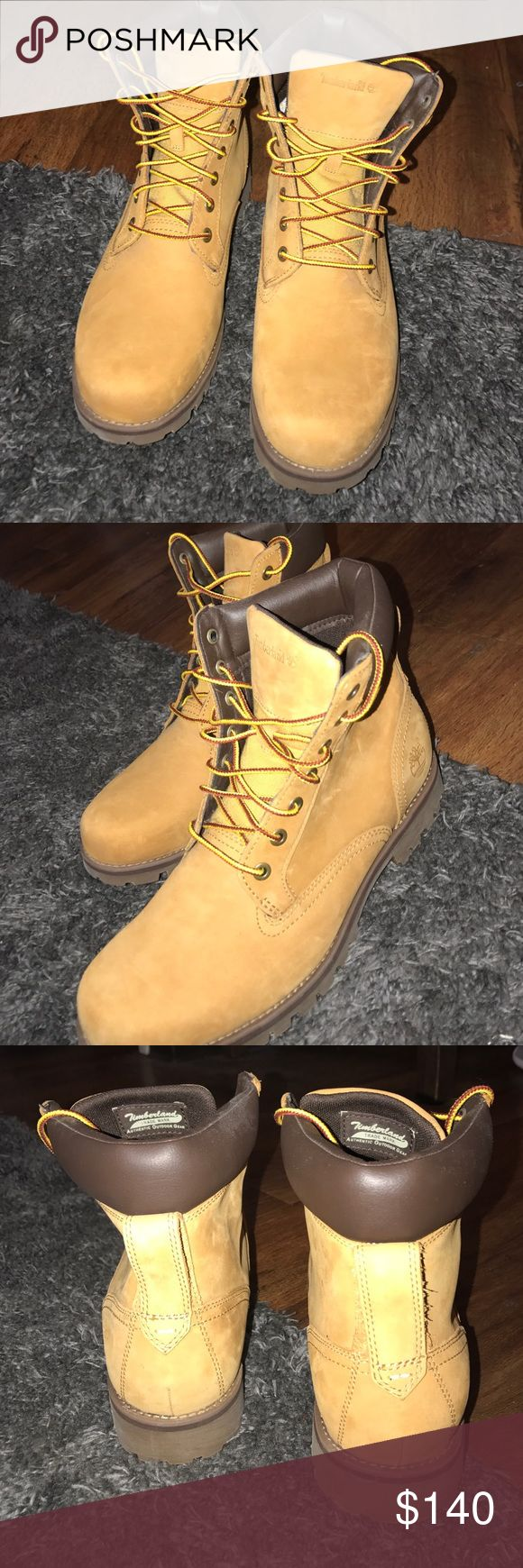 Men's Classic Timberland Boots/ Wheat Nubuck Never worn, excellent condition. Timberland Shoes Boots