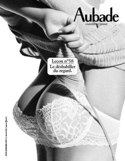 Les leçons de Séduction par Aubade  #lecondeseduction #aubade #lingerie…
