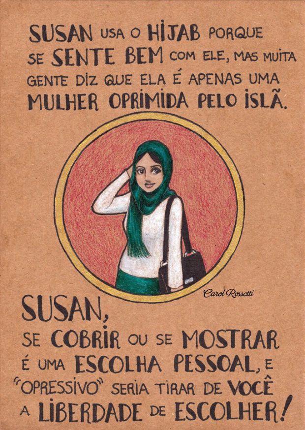 Carol Rossetti tem inspirado e empoderado muitas mulheres pelo mundo. Através de suas ilustrações, ela reforça a importância do respeito às diferenças.
