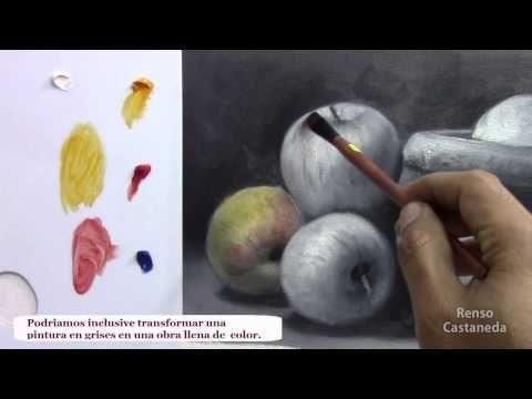 Como pintar al oleo, las veladuras - YouTube