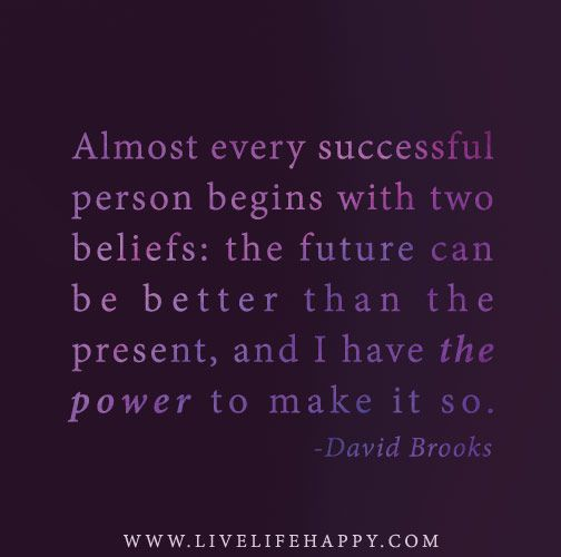 how to become a successful person in the future