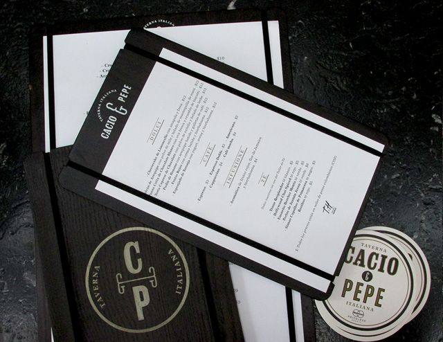 Cacio & Pepe. Cartas. 2013