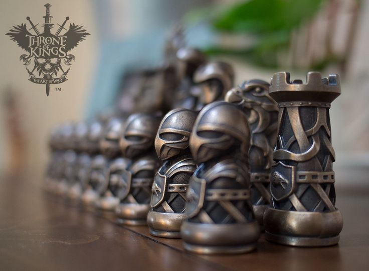 Amazing looking chess set currently on Kickstarter. The Art of War  http://kck.st/1KReRHj