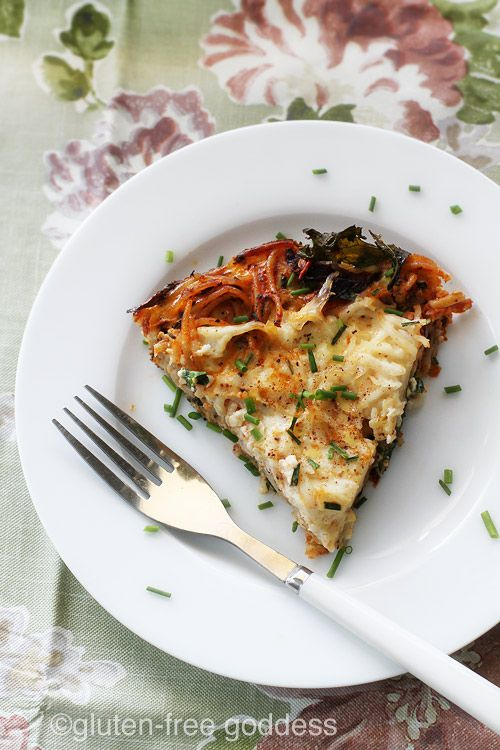 Gluten-Free Pasta Frittata with Kale (Dairy-Free) | Gluten Free ...