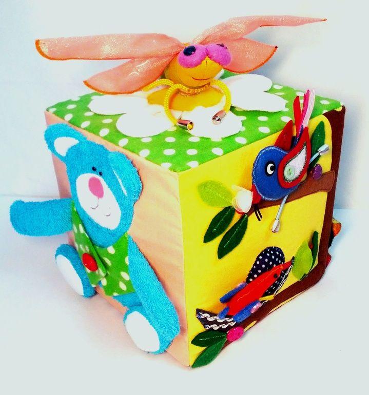Развивающий кубик для Васи . - Babyblog.ru