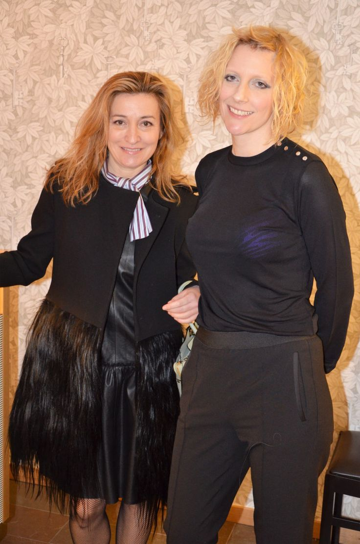 Martina Bonnier meeting Hargreaves Stockholm as we launch at Stockholm Fashion Week aw17. www.hargreavesstockholm.com