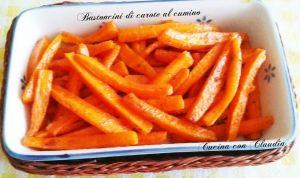 bastoncini di carote al cumino