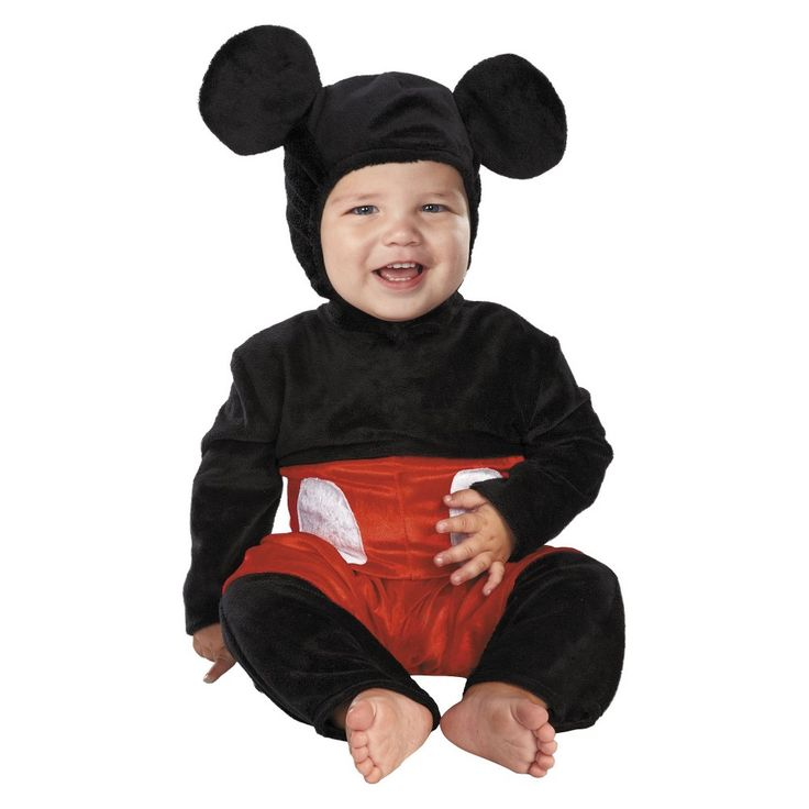Disney Baby Mickey Mouse Costume - 6-12 Months, Infant Boy's, Multicolored