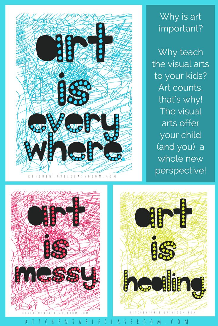 Do you have child that will grow up to be an artist? Will they make their living through fine art or commercial art? For those of you that shook your head no I encourage you to ask the question how can art encourage your child even if they aren't a gifted artist. What is art and how can it benefit every child? #teaching #art #printables