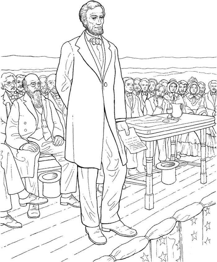 Printable Presidents Day Coloring Pages In 2020 Abraham Lincoln Images Coloring Pages Monster Coloring Pages
