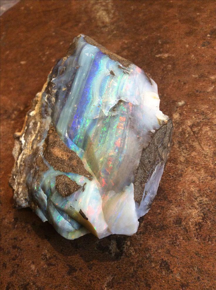 Massive specimen boulder opal