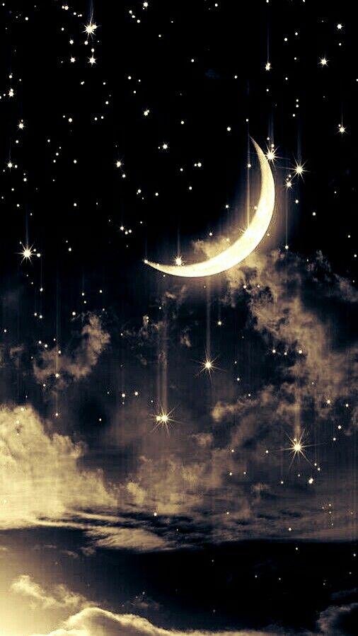 одно красивые картинки луны и звезд вертикально решила повеселиться