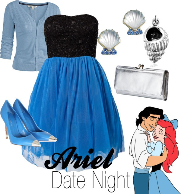 """""""Ariel-Date Night"""" by amarie104 on Polyvore"""