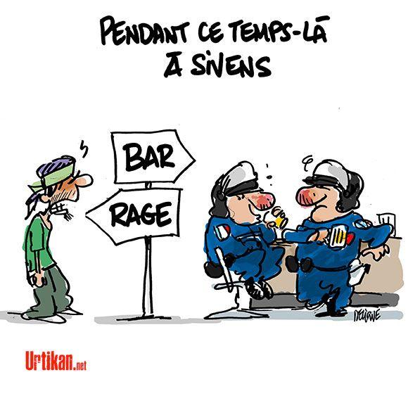Barrage de Sivens : Ségolène Royal veut «trouver des solutions» - Dessin du jour - Urtikan.net