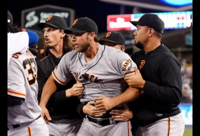 This just in: Madison Bumgarner is an idiot. San Francisco's ace left-hander is out six to eight weeks after falling from his motorcycle. Or as one savvy fan suggests, after kissing it.