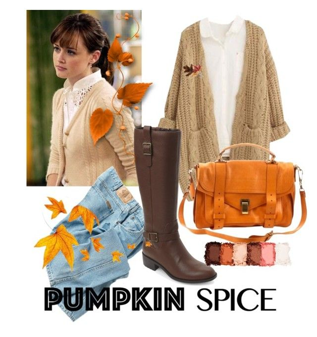 AUTUMN • Rory Gilmore inspired by alixgem on Polyvore featuring polyvore, fashion, style, Chicnova Fashion, Dickies, Cole Haan, Proenza Schouler, Anne Klein, NYX and clothing